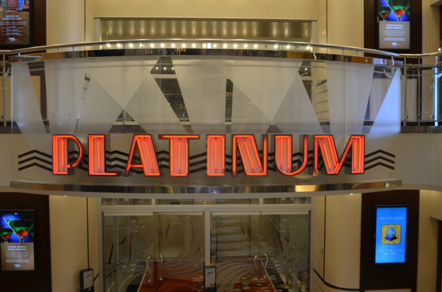 The Platinum Theatre on the Liberty of the Seas