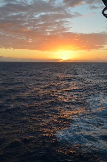 Sunrise on the Caribbean
