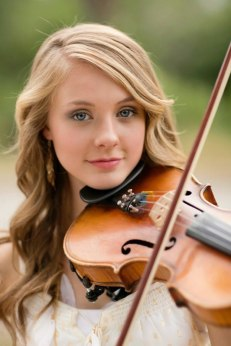 Stephanie fiddle